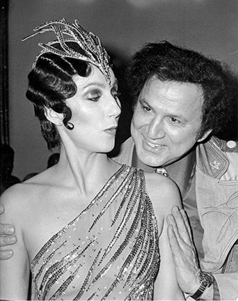 , 'Cher and Ron Galella, Disco Convention Banquet, New York Hilton Hotel,' 1979, Staley-Wise Gallery