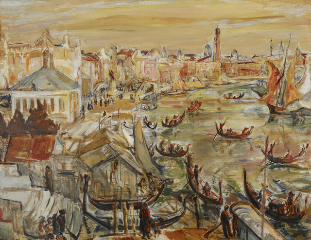 , 'The Grand Canal, Venice,' ca. 1919, Avery Galleries
