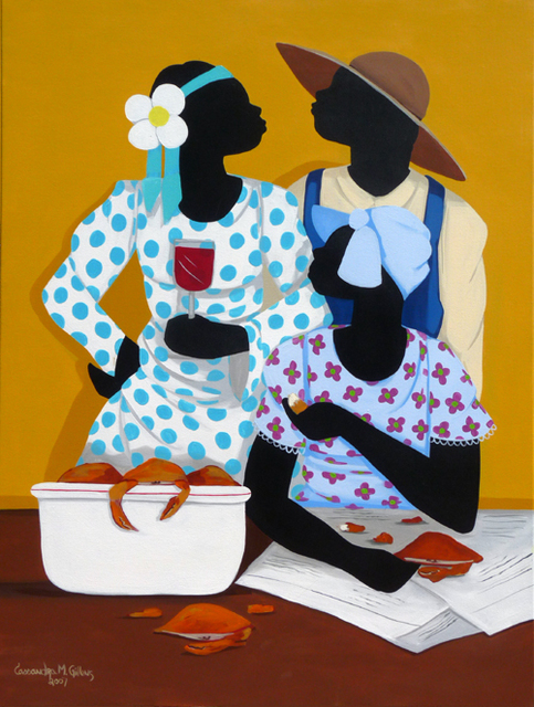 , 'Wine and Crabs (dimensions provided are unframed),' , Zenith Gallery