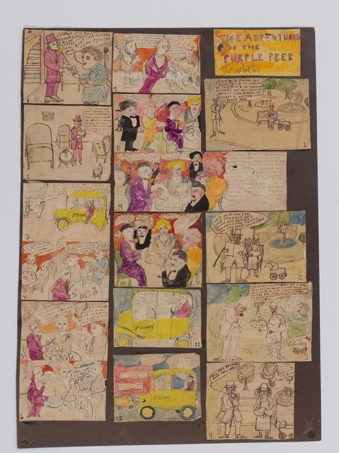 Justin McCarthy, 'The Adventures of the Purple Peer', ca. 1920's, ZQ Art Gallery