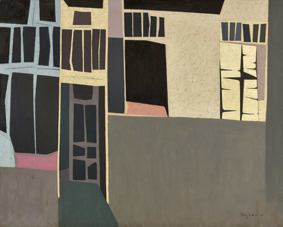 , 'Cube Buildings,' 1954, Louis Stern Fine Arts