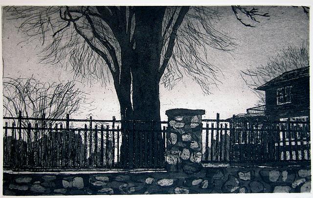 , 'Rosedale House from Ten Etchings ,' 1996, Galerie Maximillian