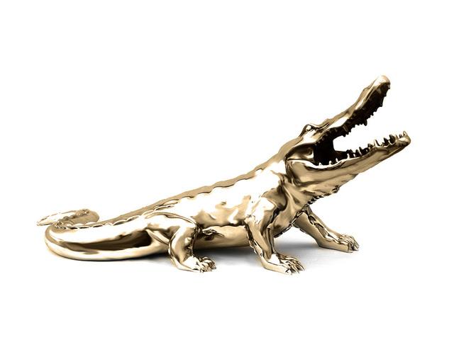 , 'Crocodile chrome resin,' , Inception Gallery