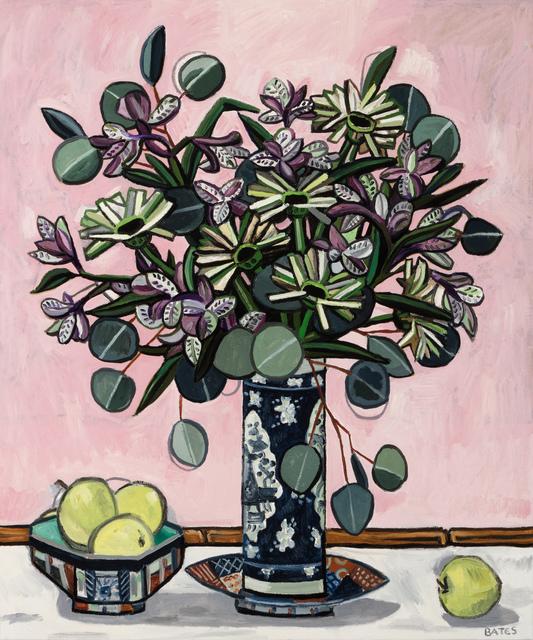 , 'Flowers and Imari,' 2015, Arthur Roger Gallery