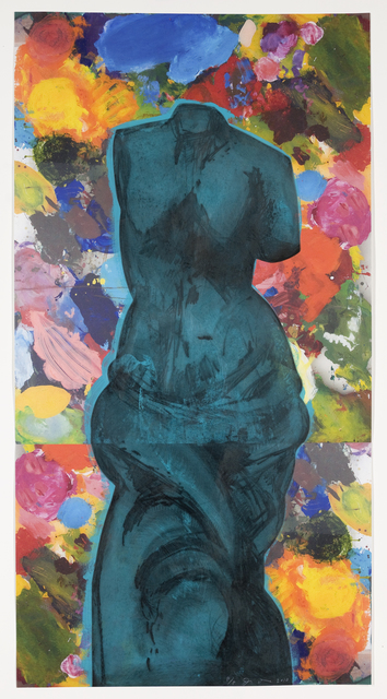 Jim Dine, 'Dark Blue Cloud', 2010, Cristea Roberts Gallery