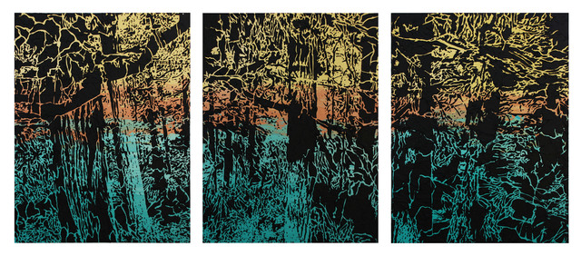 , 'Forest Triptych,' 2011, Walter Wickiser Gallery