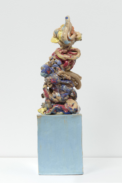 , 'Thoughts #6 With a Blue Base and a Clown,' 2017, Jane Hartsook Gallery