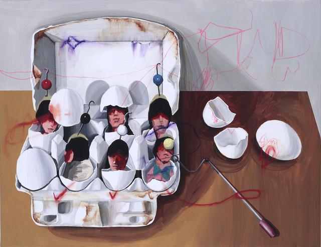 , 'Art work B- PaperBox .A very clear-cut facial feature,' 2015, Yiri Arts
