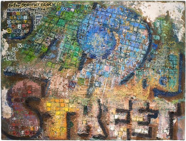 John Lees, '42nd Street (Tesserae)', 2015, Painting, Oil on Canvas, Betty Cuningham