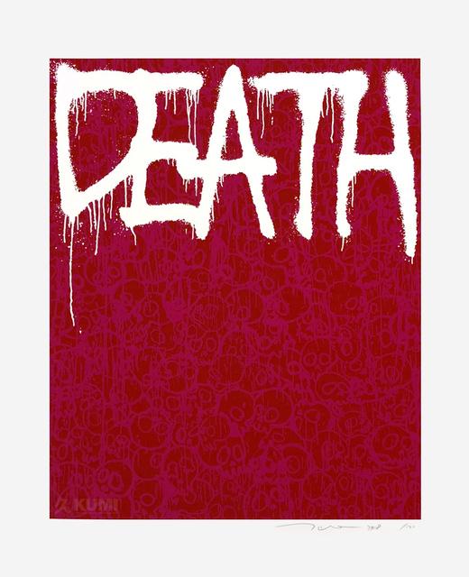 Takashi Murakami, 'Death Pink', 2018, Kumi Contemporary / Verso Contemporary