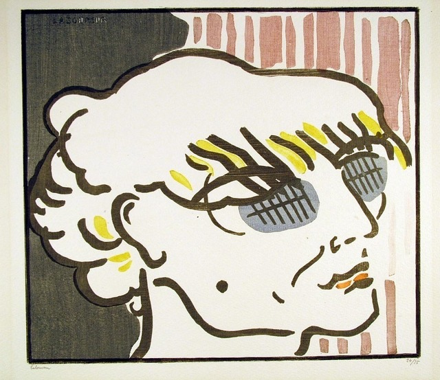 , 'Lassitude,' 1912, Harris Schrank Fine Prints