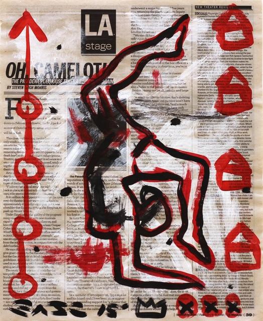 , 'Camelot,' 2015, Artspace Warehouse