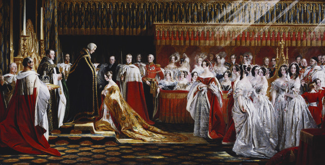 , 'Queen Victoria Receiving the Sacrament at her Coronation, 28 June 1838,' 1838-1839, Royal Collection Trust