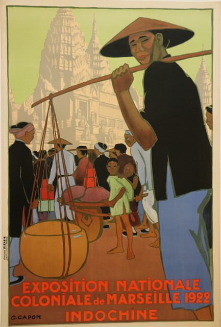 , 'Poster for the 1922 Marseille Colonial Show by Georges Capon, Art Deco, France,' 1922, Avant-Garde Gallery