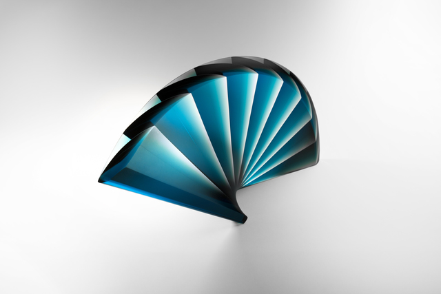 ", '""Blue Fan"",' 2015, J. Lohmann Gallery"