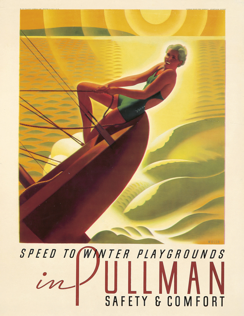 , 'Pullman / Speed to Winter Playgrounds,' 1935, Rennert's Gallery
