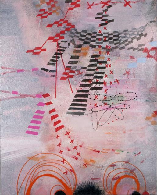 Virginia Verran, 'Pink/Orange Nightingale Structure (eyes)', 2016, Arusha Gallery