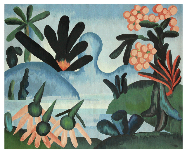 , 'Tapestry Tarsila do Amaral - O Lago,' 2016, By Kamy