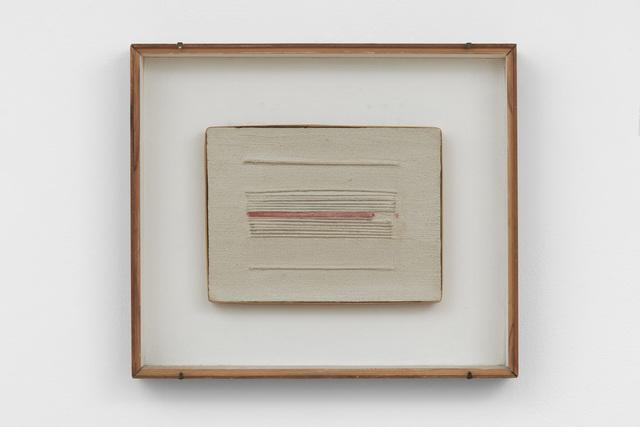 Bice Lazzari, 'Ritmo materico [Material rhythm]', 1964, Richard Saltoun