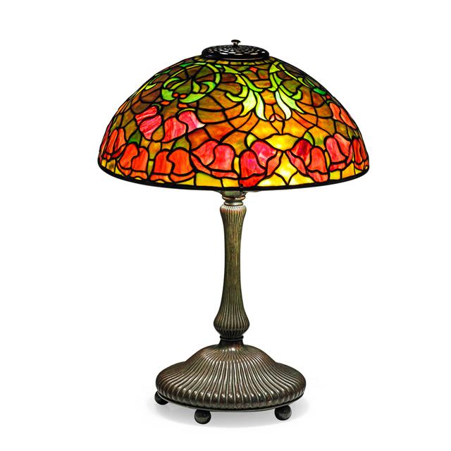 Tiffany Studios, 'Bellflower Table Lamp, New York', Early 20th C., Rago/Wright