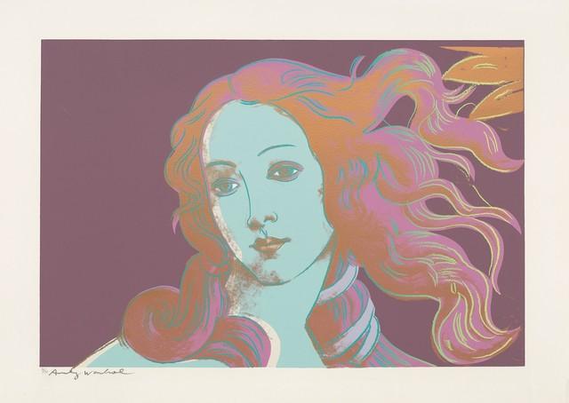 Andy Warhol, 'Sandro Botticelli, Birth of Venus (F&SII.317)', 1984, Robin Rile Fine Art