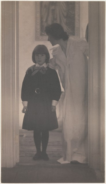 Gertrude Käsebier, 'Blessed Art Thou among Women', 1899, The Metropolitan Museum of Art