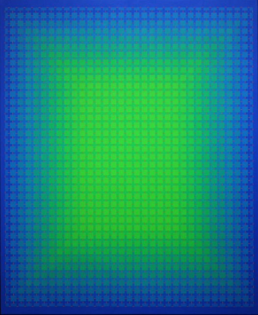 , 'Spectral Blue,' , The Bonfoey Gallery