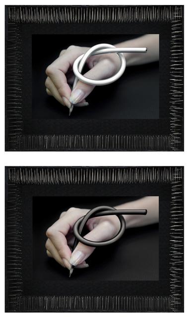 , 'Dibujo - Diptych,' 2007, Diana Lowenstein Gallery