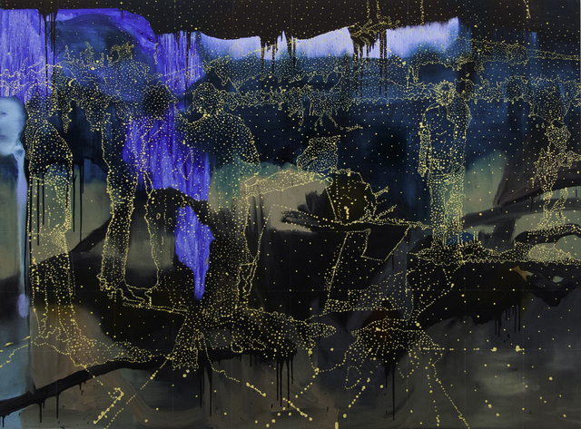 , 'Blue Terrain,' 2016, Dominik Mersch Gallery
