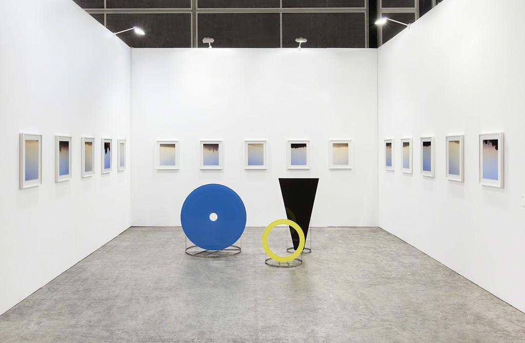 Mandla Reuter and Alice Ronchi Art Basel Hong Kong 2015 - Francesca Minini installation view