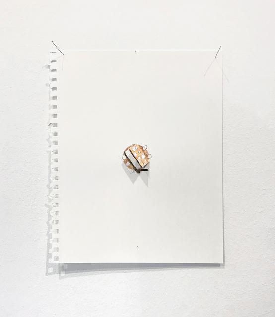Richard Tuttle, 'Letter Pause (2)', 2019, Galerie Christian Lethert