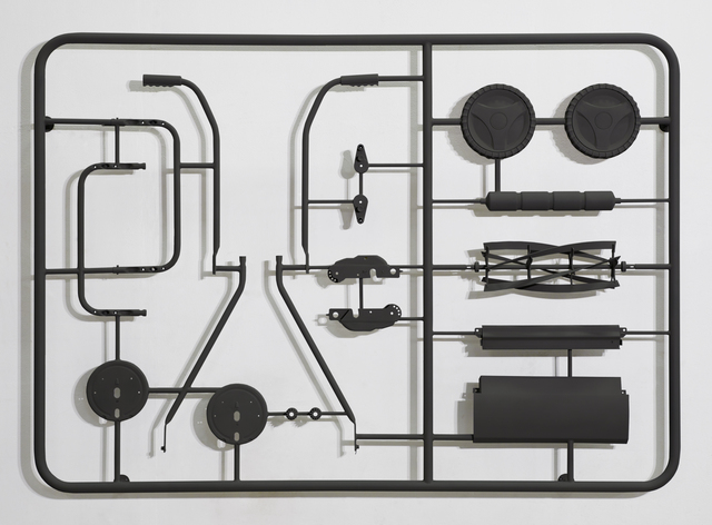 , 'Manual Lawn Mower Assembly Kit,' 2011, The Flat - Massimo Carasi