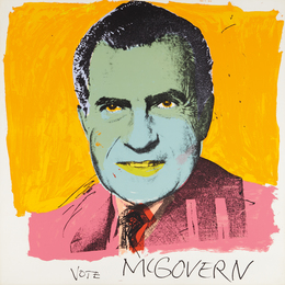 Andy Warhol, 'Vote McGovern,' 1972, Phillips: Evening and Day Editions (October 2016)