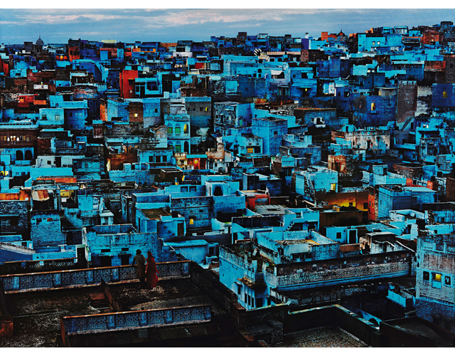 , 'Blue City, India,' 2010, Peter Fetterman Gallery