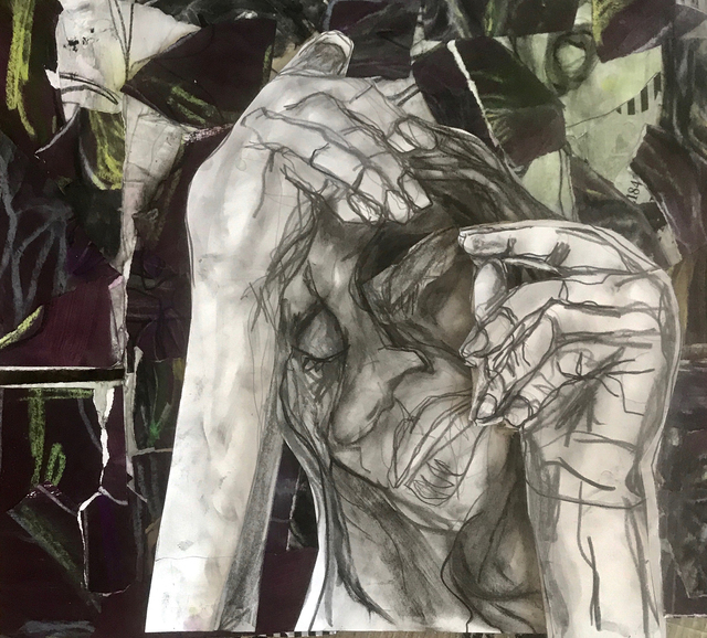 Sima Schloss, 'It was the last person I wanted to tell but the one person who I wanted to know', 2018, NYC Art Collective and Gallery