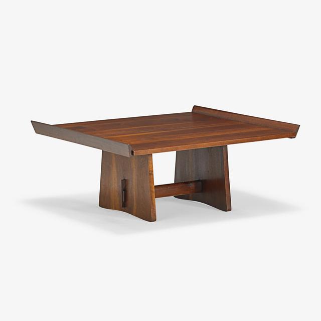 George Nakashima, 'Early Milkhouse table, New Hope, PA', 1954, Rago