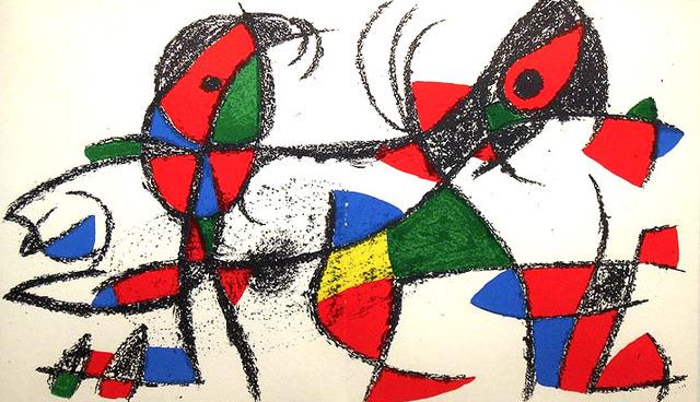 Joan Miró, 'COMPOSITION', 1975, Altmans Gallery