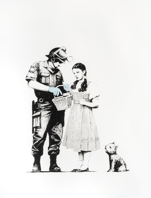 Banksy, 'Stop & Search', 2007, Tate Ward Auctions