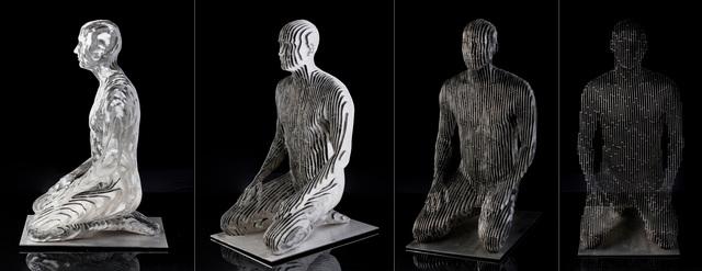 , 'Kneeling Man,' 2015, Andrea Schwartz Gallery