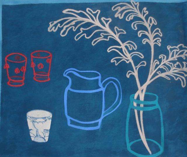 , 'Song for Blue I,' 2016, Susan Eley Fine Art