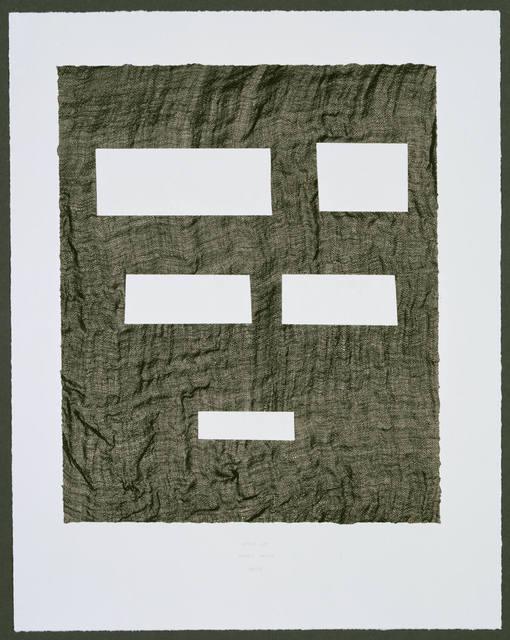 , 'Stick Up...,' 2007, Gemini G.E.L. at Joni Moisant Weyl