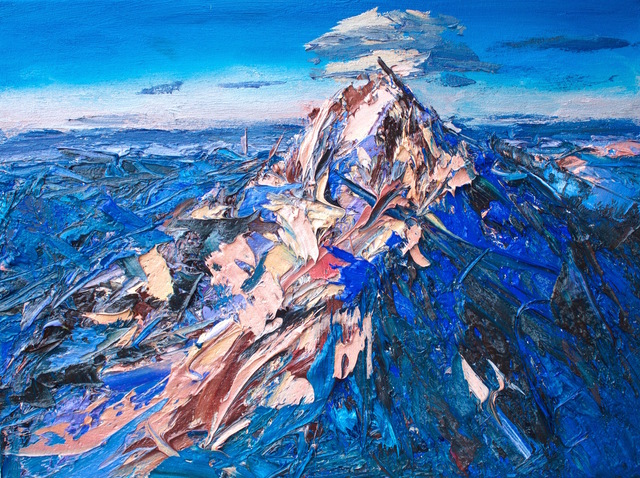 , 'Aoraki: Mt Cook from the North,' 2017, Rebecca Hossack Art Gallery
