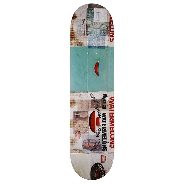 Robert Rauschenberg, 'Watermelon Medley Skateboard Deck', 2017, Artware Editions