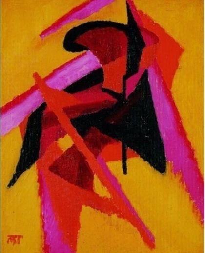 , 'Composition (Fleur de l'âme)q,' 1922, Galerie Le Minotaure