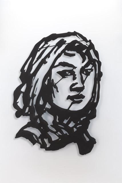 , 'Head (Woman with Head Scarf) ,' 2016, Lia Rumma