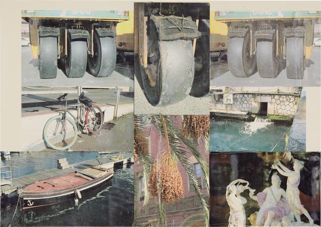 Robert Rauschenberg, 'Deepend (Scenario)', 2006, Photography, Inkjet pigment transfer on polylaminate, in 2 parts, Phillips