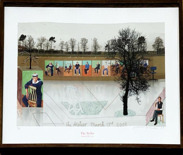 David Hockney, 'The Atelier, March 17th 2009 ', 2009, Fairhead Fine Art Limited