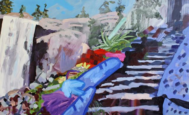, 'Mist Trail 1 (Vernal Fall, Boy's Lunch),' 2014, G. Gibson Gallery