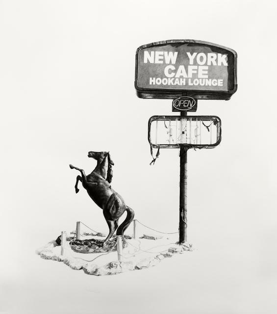 , 'New York Cafe Hookah Lounge,' 2017, M.A. Doran Gallery