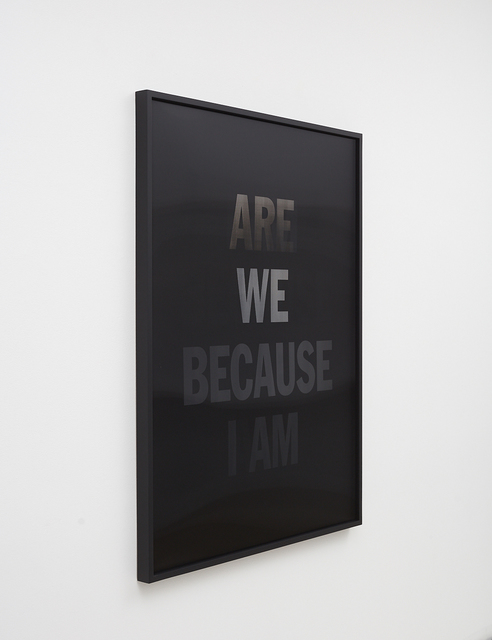 , 'I Am Because We Are,' 2019, Ben Brown Fine Arts